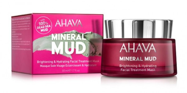 Ahava Brightening & Hydration Facial Treatment Mask 50ml